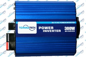 153.001.0003 TOMMA MS300-12V  Modifiyesinüs Invertör 12V - 300W