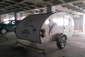 SATILIK CARETTA 1500 2010 MODEL ÇEKME KARAVAN 2